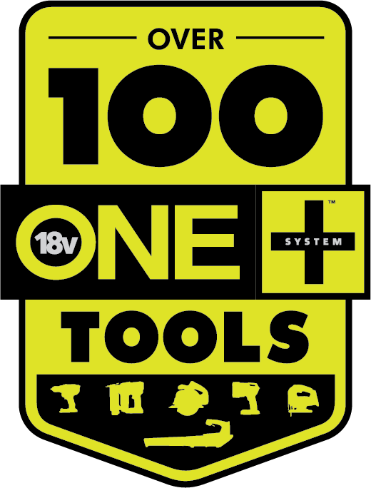 Logo: Over 100 ONE+ Tools